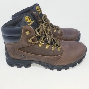 New Timberland Mid Brown Leather Size 10.5